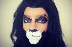 "This Woman Made-Up Like Scar From ""The Lion King"" Has Already Won Halloween"