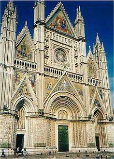 orvieto/ italy  cathedral ... one of the most amazing 'churches' ever