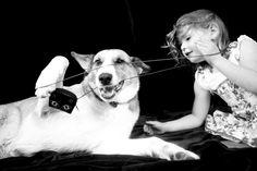 Gorgeous relationship between children and pets. www.lizziepatterson.com