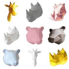 Alle deze DIY origami kits van Assembli verkrijgbaar bij Indie-ish.nl