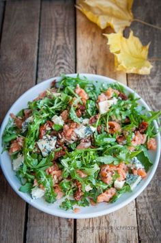 Fish Salad, Salmon Salad, Pasta Salad, Snack Recipes, Healthy Recipes, I Foods, Green Beans, Food Porn, Food And Drink