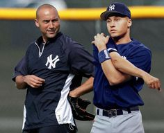 Then and Now: Derek Jeter. -Sporting News