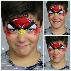 Are you ready for the #Angrybirds #facepainting fever? I am already getting…