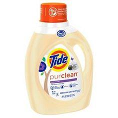 Tide PurClean Honey Lavender HEC Liquid Laundry Detergent - 48 Loads 75 oz : Target