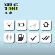 Iconos que te joden el dia via @elmaspajuo