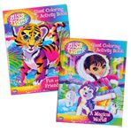 Lisa Frank Giant Coloring and Activity Books $1.00-$3.00