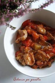 Qchnia po prostu: Gulasz z indyka z kiszonymi ogórkami Beef, Chicken, Food, Meat, Essen, Meals, Yemek, Eten, Steak