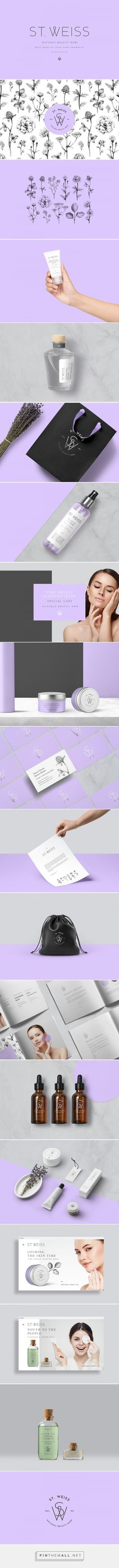 St. Weiss Skin Care Branding by Saturna Studio | Fivestar Branding Agency – Design and Branding Agency & Curated Inspiration Gallery