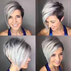 50 Long Pixie Cuts to Make You Stand Out in 2020 - Hair Adviser - - Bored with your current cropped hairstyle and looking for something new? Consider one of these 50 trendy long pixie cuts! Asymmetrical Pixie Cuts, Long Pixie Cuts, Long Pixie Bob, Short Asymetrical Haircuts, Messy Pixie Cuts, Pixie Bob Haircut, Longer Pixie Haircut, Undercut Pixie, Haircut Short