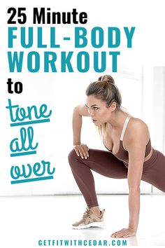 Quick Full Body Workout, Total Body Toning, Body Workout At Home, Pooch Workout, Butt Workout, Short Workouts, Toning Workouts, Fun Workouts, Exercises