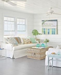 Beach Cottage Style Floor Lamps How To Decorate Coastal
