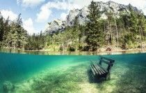 오스트리아 그린레이크 지구에서 가장 아름다운 호수, Green lake park