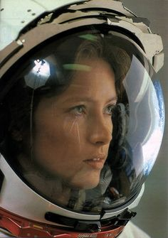 Astronaut Anna Fisher: First mother in space. She was a mission specialist on NASA STS-51A launched November 8, 1984.