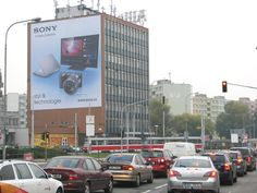 Sony - outdoor advertising - MaxMedia