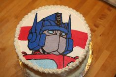 Optimus Prime To The Rescue For a very long time I had no idea what a FBC was. So one day I actually figured it out. Optimus Prime, Transformer Birthday, Transformer Cake, Transformers Birthday Parties, Bithday Cake, Pinterest Cake, Order Cake, 4th Birthday, Birthday Ideas