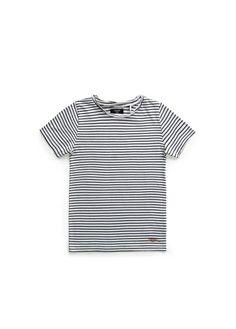 T-shirt rayé en coton - Mango kids, 10,99€