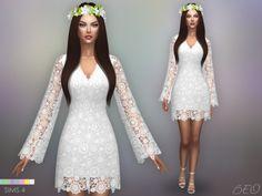 BOHEMIAN WEDDING DRESS at BEO Creations via Sims 4 Updates