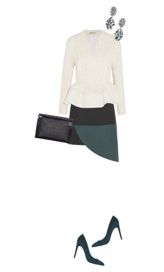 """""""Let's talk about business"""" by payypayy on Polyvore featuring Marni, Balenciaga, DANNIJO, Balmain, Loewe and PolyPower"""