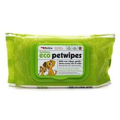 Petkin Bamboo Eco Petwipes 80 Count *** Learn more by visiting the image link. (Note:Amazon affiliate link)