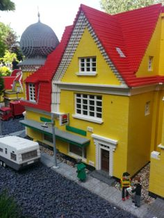 Got to visit the original LEGOLAND in Billund, Denmark.  It is a really nice park with lots of really cool Lego cities made of thousands of Legos!