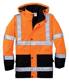 $54.00   Cornerstone Men's Waterproof Reflective Parka Jacket_Safety Orange_Medium Cornerstone