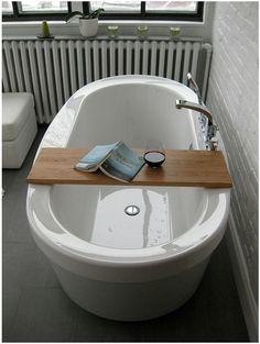 bubble bath tray