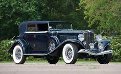 1933 Auburn Twelve Phaeton