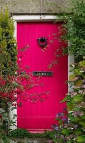 Image result for coloured front doors