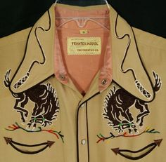 Few can pull this off, but it's an incredible sight to behold when they do. Vintage Western Wear, Vintage Cowgirl, Cowboy And Cowgirl, Vintage Men, Cowboy Baby, Cowboy Outfits, Western Outfits, Western Shirts, Cowgirls
