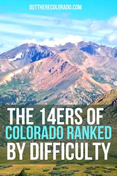 It's important that you know how difficult the mountains you're climbing are before you hit the trailhead. Here's a quick rundown of standard route difficulty rankings, as ranked on 14ers.com. #OutThereColorado #Travel #Colorado #ColoradoVacation #ColoradoSprings #Denver #Breckenridge #RockyMountainNationalPark #Mountains #Adventure #ColoradoFall #ColoradoPhotography #ColoradoWildlife #Mountains #Explore #REI #optoutside #Hike #Explore #Vacation Paris Travel Tips, Solo Travel Tips, Japan Travel Tips, Travel Blog, Usa Travel Guide, Italy Travel Tips, Travel Usa, Travel Guides, Colorado Springs