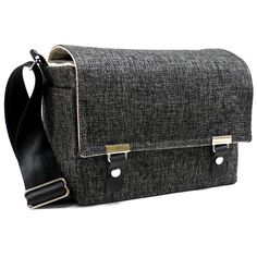 Camera messenger bag with padded insert  medium  by MariForssell, $159.00