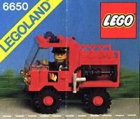 View LEGO instructions for Fire and Rescue Van set number 6650 to help you build these LEGO sets