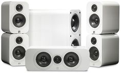 Q Acoustics 3000 Serie 5.1 Cinema Pack (Wit) - Prijzen - Tweakers