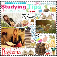 Studying Tips for our finals this week!