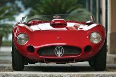 RM Auctions highest estimated seller for its Monaco auction is a rare 1956 Maserati driven by Stirling Moss and Juan Manuel Fangio. New Sports Cars, Classic Sports Cars, Sport Cars, Race Cars, Classic Cars, Maserati Car, Lamborghini Huracan, Ferrari, Maserati Biturbo