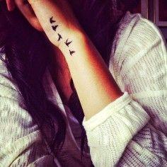 bird tattoos on wrist for girls - sleeve tattoos