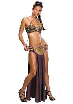 Princess Leia enslaved by Jabba the Hut in Return of the Jedi Costume