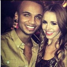 Such a beautiful couple! :) <3