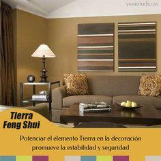 Feng Shui y la decoración con elemento Tierra