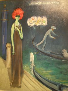 Kees van Dongen 'The Quai, Venice', ca. 1921, Milwaukee Museum of Art