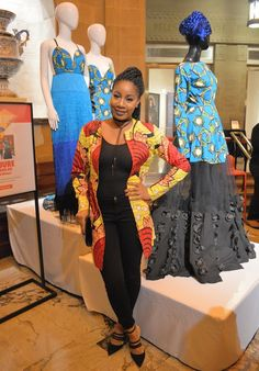 The AfroFusion Spot: Spotted!: African Print Style at the Museum african fashion african print waxprint ankara style