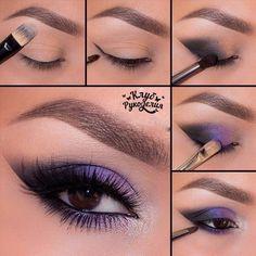 Makeup | violet