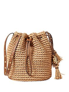 Crochet handbags 531847037235860772 - Sac en paille Polo Ralph Lauren Source by gleencmands Crotchet Bags, Knitted Bags, Sac Ralph Lauren, Straw Handbags, Leather Handbags, Leather Totes, Leather Bags, Brown Leather, Tassel Purse