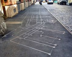 Did you ever notice this 90 feet long by 12 feet wide floating subway map embedded into the sidewalk in front of 110 Greene Street just south of Prince Street? The work has all the quintessential elements of a New York City artist's story. An artist begins her career on the streets of Soho. She seeks to install a public art piece (supported by a real-estate developer) but has to get it passed by the community board. Then she is mocked by an officer in the Department of Transportation for her…