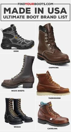 7212020d60a1 60+ American Made Boots - Ultimate Brand List
