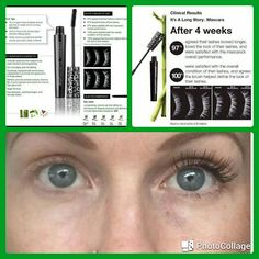 """Calling all my make up lovers!!!! Today is National Lash Day! Yes it's a thing and no I am not making it up! Arbonne's """" It's a Long Story"""" mascara is amazing and one of my favorites and best sellers!"""