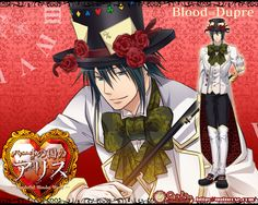 Alice in the Country of Hearts - Blood Dupre Mad Hatter Peter White, Alice Liddell, Traditional Stories, Hot Anime Boy, Anime Boys, Joker, Lost Girl, Good Manga, Anime Manga