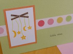 Mobile Baby Card baby ideas