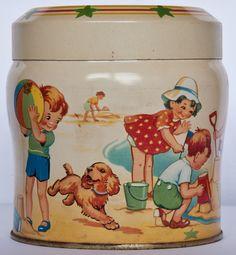 Vintage Thorne's tin