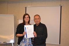 Entrega diploma UDLA abril 2012